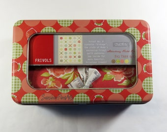 SALE!! Frivol No. 06  Quilt Kit - Vintage - Strawberry Fields Revisited - Fig Tree & Co. - Moda