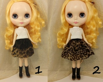 Blythe Skirt, Blythe Dress, leopard print, animal print.