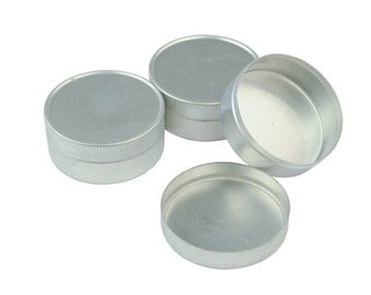Proops Pack of 3 Push Solid Lid Aluminium Storage Tins. (S7241) Free UK Postage