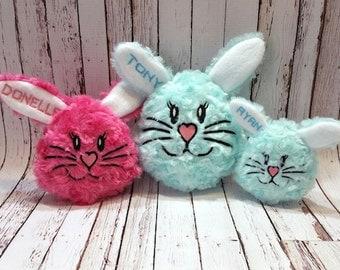 Bunny Face Pillow 6x10