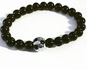 Soccer lover bracelet