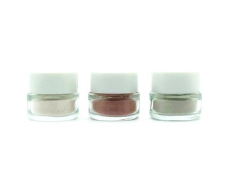 Organic Face Mask Trio Sample Set. Brighten, Hydrate and Purify.