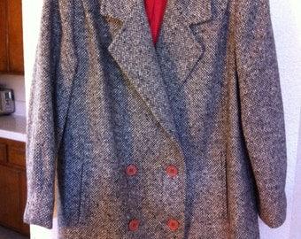 Vintage Ferncroft Wool Tweed Coat