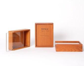 Treasure boxes teakwood vintage danish