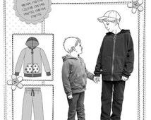 Pattern of NIKOLAS jogging suit kids