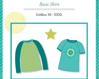 "Mialuna pattern ""Mister Raglan"" shirt"