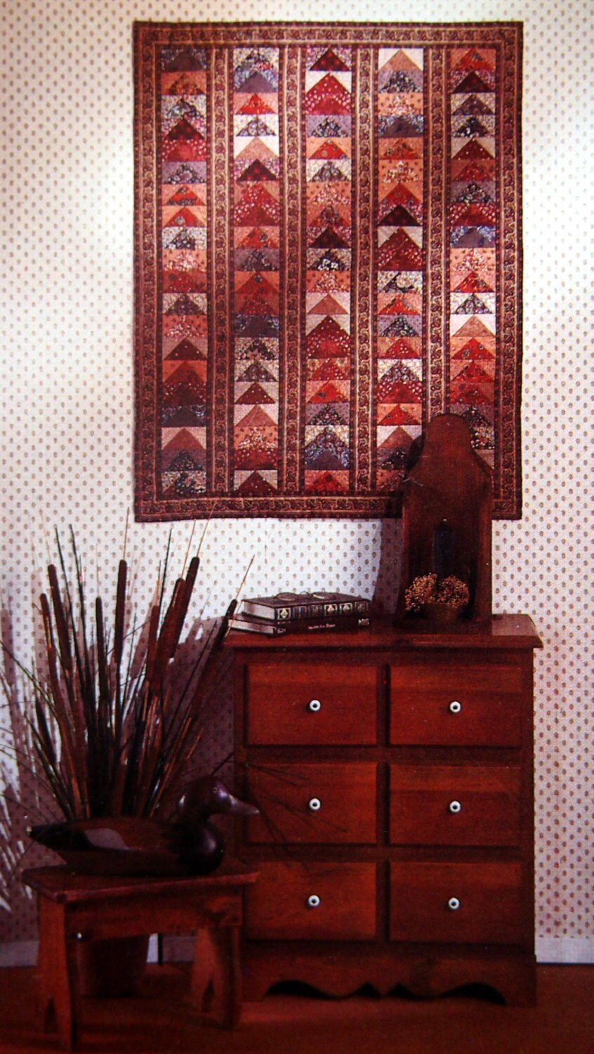 The Flying Geese Quilt By Blanche Young Amp Helen Young