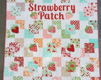 Strawberry Patch PDF Quilt Pattern