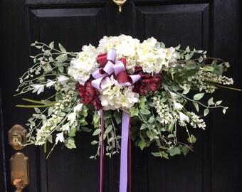 30 In Large Swag Elegant Wedding Candelabra Decoration Wall Decor Door