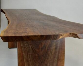 Beautiful Walnut Slab Table