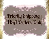 Priority Shipping USPS 2-3 day Upgrade