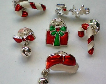 Tie Tack Collection of Christmas Pieces - 4307