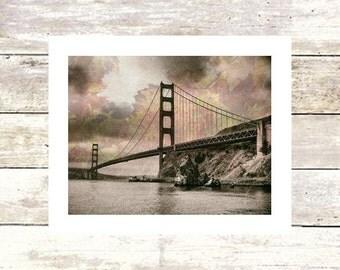 GOLDEN GRAPES - San Francisco - Golden Gate Bridge - Fine Art Photograph - Limited Edition of  250