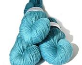 Hand dyed yarn BFL Aran 'Damsel'