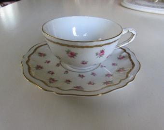 NEW YORK THEODORE Haviland Teacup and Saucer Set