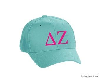 DZ Delta Zeta Classic Letters Hat