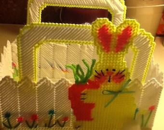 Bunny Garden Basket