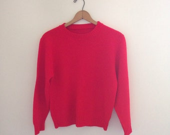 Red Sweater Size Small