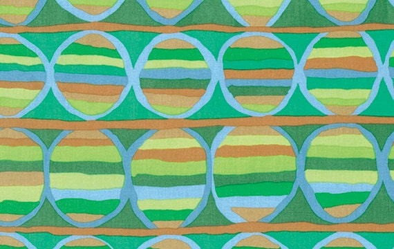 HEAT WAVE GREEN m055 by Brandon Mably Sold in 1/2 yd increments