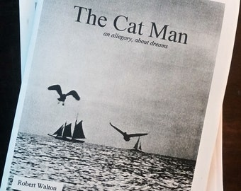 The Cat Man - fiction/short-story zine