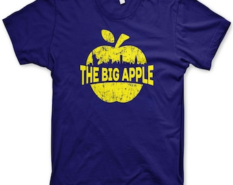 The Big Apple t-shirt New York City skyline shirt