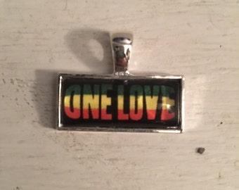One Love Rasta Necklace
