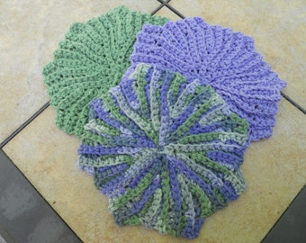 Crochet Dishcloth Washcloth