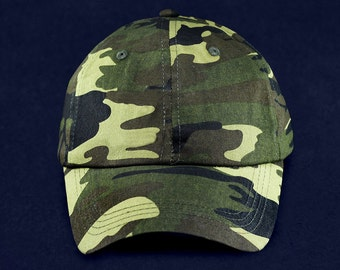 Green Camouflage Pattern Hat (RE-HAT-CF13)