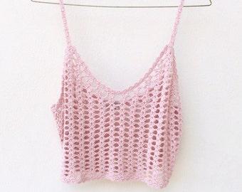 Small / Medium | Crochet Tank Cami