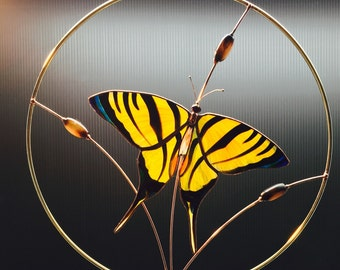Yellow Tiger Swallowtail Butterfly panel