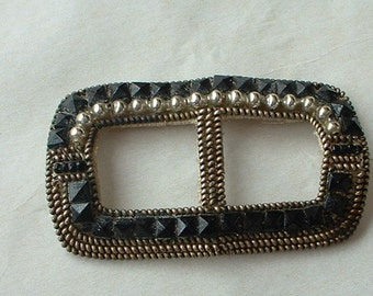 Edwardian hand made buckle/ applique