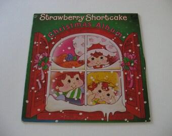Strawberry Shortcake - Christmas Album - 1980