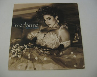 Madonna - Like A Virgin - 1984
