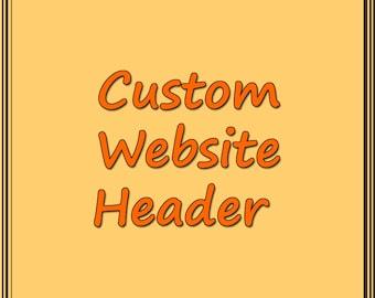 Custom Website Header