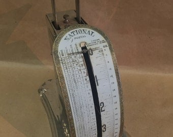 c.1899 Pelouze Scale & MFG.CO National Postal Scale
