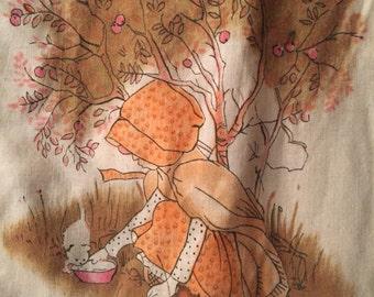 1950's Holly Hobbie blanket