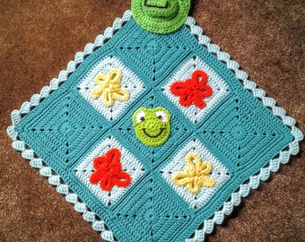 Froggy Lovey Blanket / Froggy Lovie / Froggy Blankie