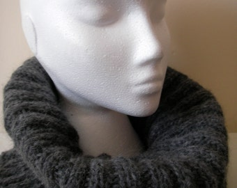 Hand knitted Alpaca Cowl