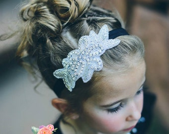 Rhinestone Headband, Flower Girl Headband,Crystal Headband, Bridal Headband,Gatsby Headband, Bling Headband, Wedding Headband, baby headband