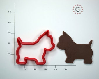 Westie Terrier Cookie Cutter