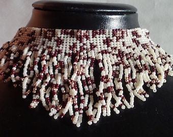 Collar. Leopard. Necklace.