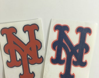 New York Decals, Mets Decal, Vinyl Decal, New York Mets Inspired decal.