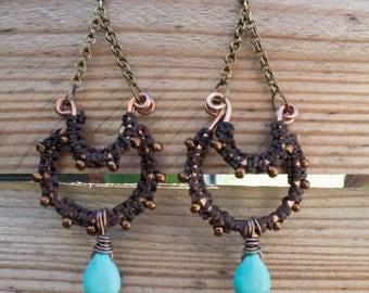 "Ethnic earrings ""Zelie"""