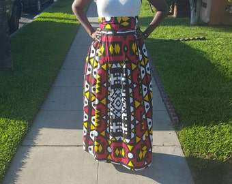 B R Y W Tribal Wax Print