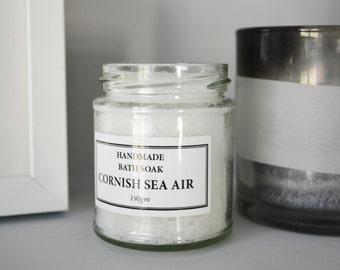 Bath Soak - Cornish Sea Air - 190g Jar