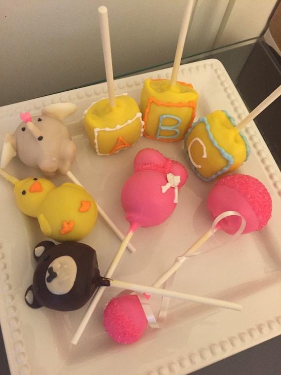 Baby Themed Cake Pops