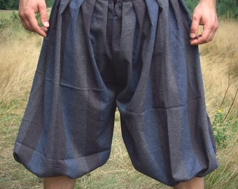 Early Medieval Viking baggy pants, trousers, for reenactors, historical pattern