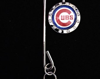 Chicago Cubs inspired purse key-finder