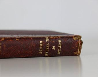 The Adventures of Mr. Verdant Green Antique Book