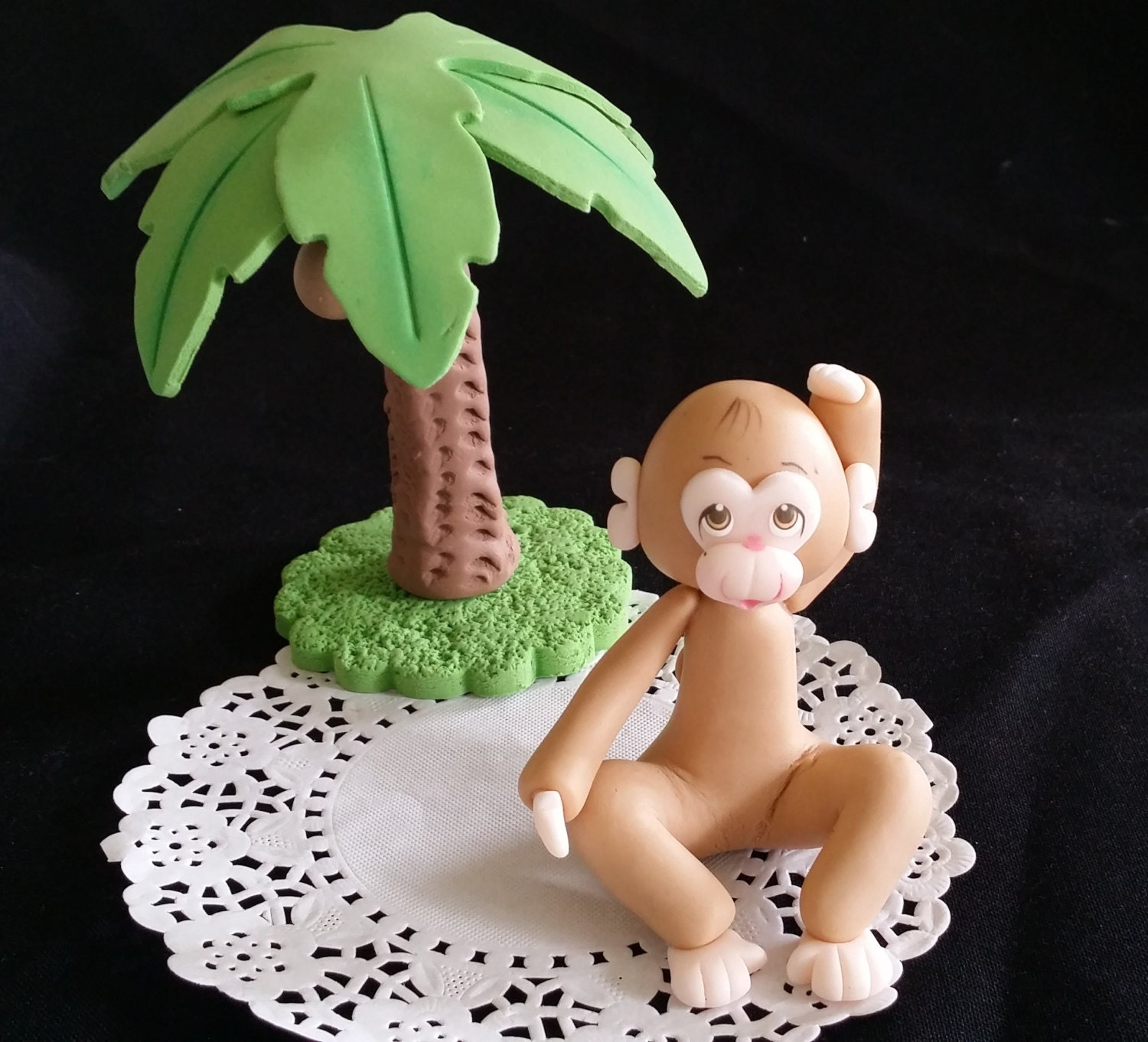 Pink Zoo Animals Safari Lion Zebra Baby 1st First Birthday: Lion Cake Topper Jungle Cake Topper Jungle Baby Shower